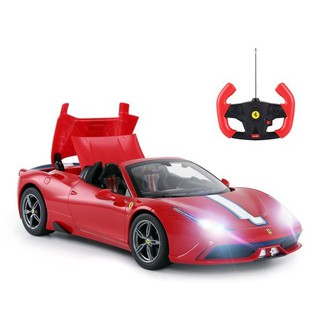 RASTAR RC Car Radio Remote Control Car 1/14 Scale Ferrari 458 Special A, Model