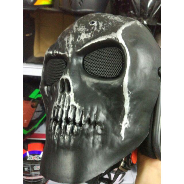 Mặt nạ đầu nâu gắn nón 3/4 dùng bảo hộ - 2685330 , 485683355 , 322_485683355 , 350000 , Mat-na-dau-nau-gan-non-3-4-dung-bao-ho-322_485683355 , shopee.vn , Mặt nạ đầu nâu gắn nón 3/4 dùng bảo hộ