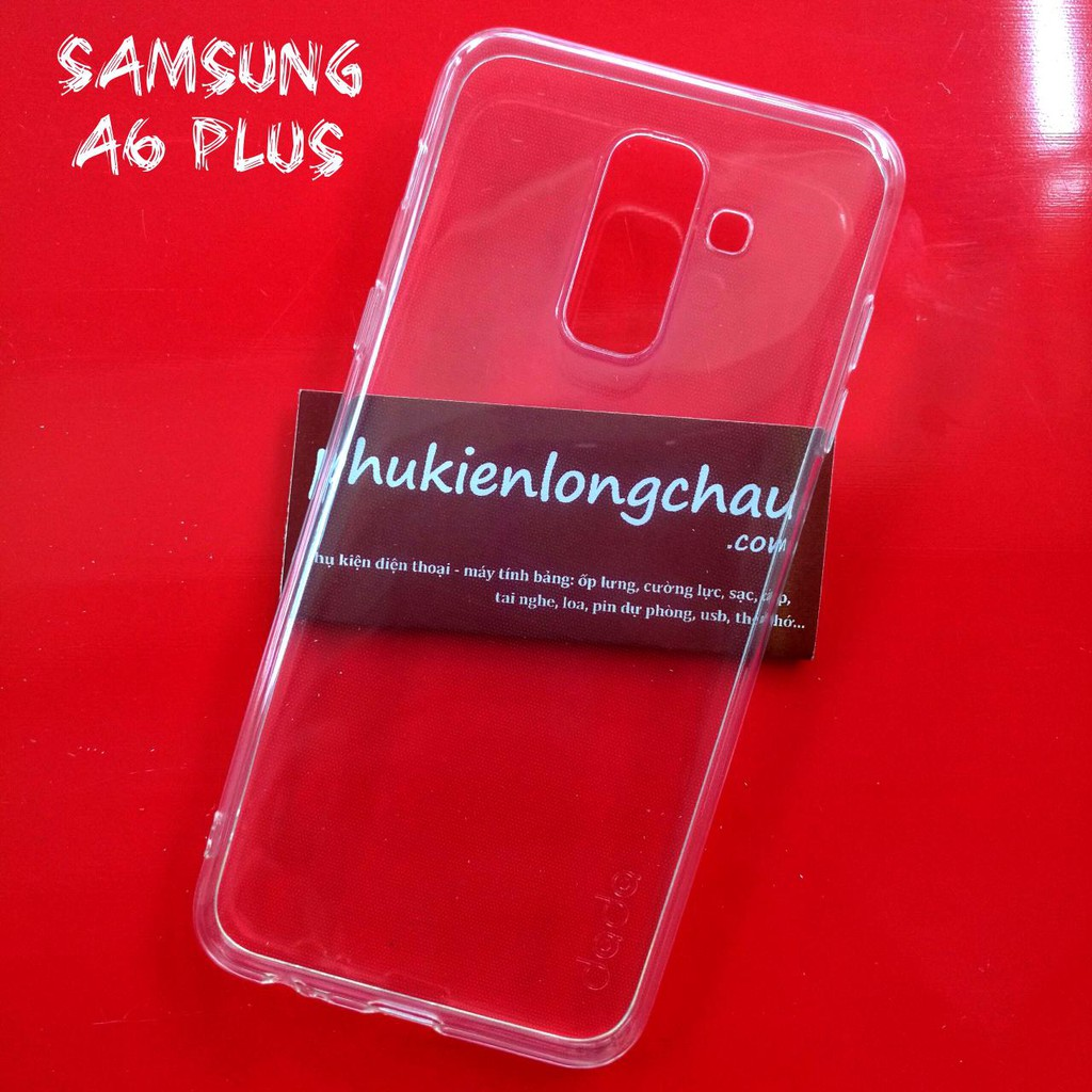 Ốp Lưng Samsung A6 Plus Dẻo Trong Suốt Loại Tốt - 22112838 , 1243185445 , 322_1243185445 , 34000 , Op-Lung-Samsung-A6-Plus-Deo-Trong-Suot-Loai-Tot-322_1243185445 , shopee.vn , Ốp Lưng Samsung A6 Plus Dẻo Trong Suốt Loại Tốt