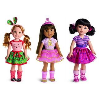 Giày ống nhựa cho Búp bê – Doll Shoes Cartoon Hand Paint Raining Boots Fit For American Doll Shoes