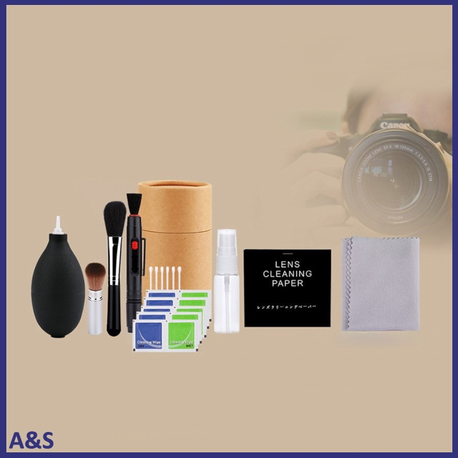 Professional Digital Camera Cleaning Brush Wipe Tools Set Brush Cleaner Kits Photo Cleaning Kit