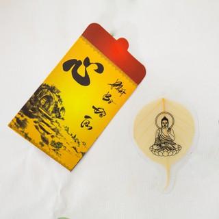 Mặt Phật Tổ ngự Lá Bồ Đề cầu bình an - ANCARAT