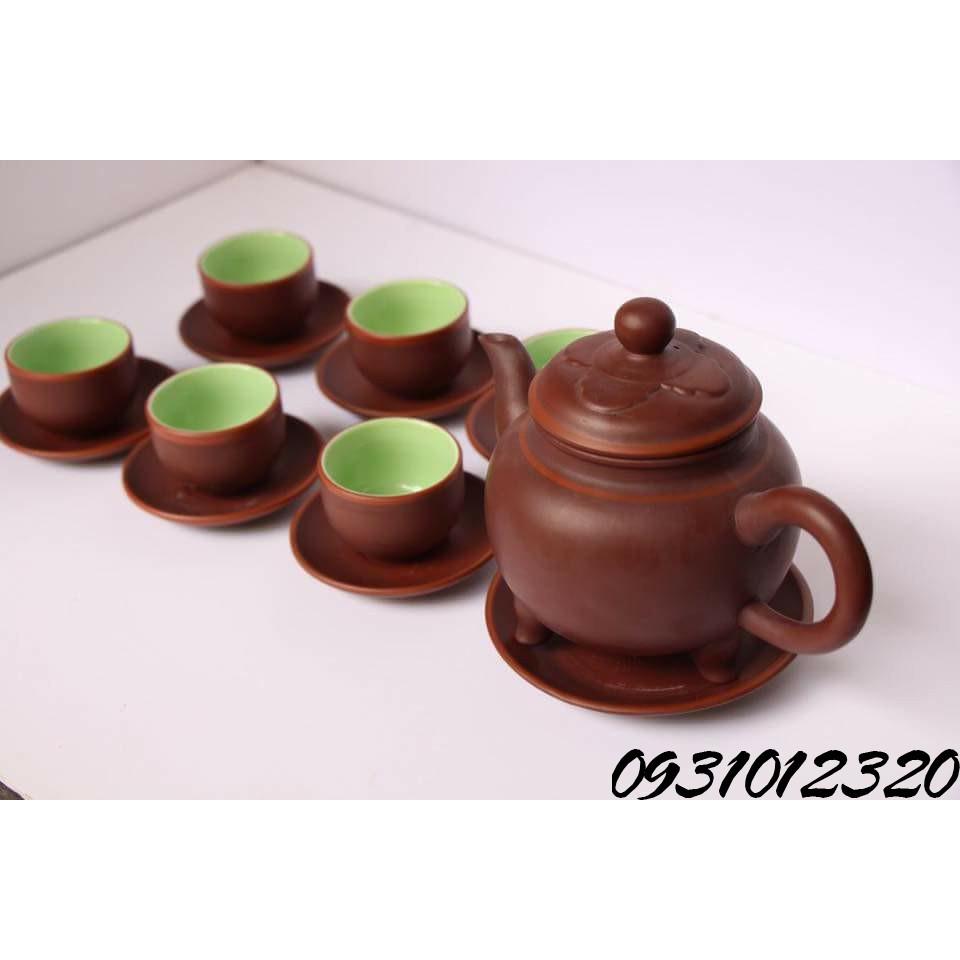 ấm chén hà đông Bát Tràng_bộ ấm chén trà du lịch Bát Tràng