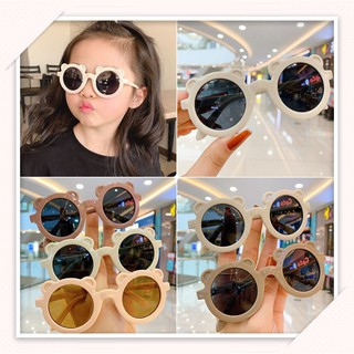 Kính mát trang trí chống tia UV hình gấu, đạo cụ chụp ảnh cho bé trai và bé gái đủ màu mã 1601