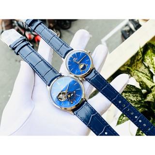 ĐỒng hồ đôi nam nữ Orient Bambino RA-AS0103A10B & RA-KB0004A10B màu blue thumbnail