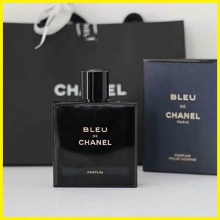 Nước Hoa B.LEU de C.HANEL Parfum (Chữ Vàng) 100ml - Bản Nắp Hít Siêu Cấp, Hương Thơm Đẳng Cấp, Nam Tính