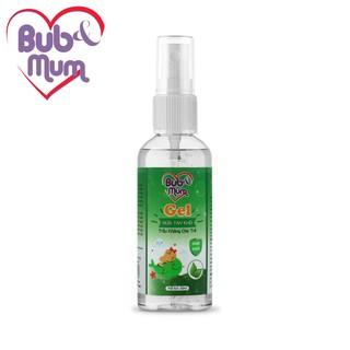 Gel xịt rửa tay chiết xuất Trầu không an toàn và diệt khuẩn cho bé 50ml Bub&Mum thumbnail