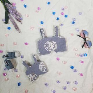 Yếm – outfit cho doll 15cm và 20cm