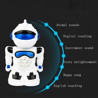 Âm thanh và ánh sáng đồ chơi giáo dục robot thông minh máy câu chuyện giáo dục s
