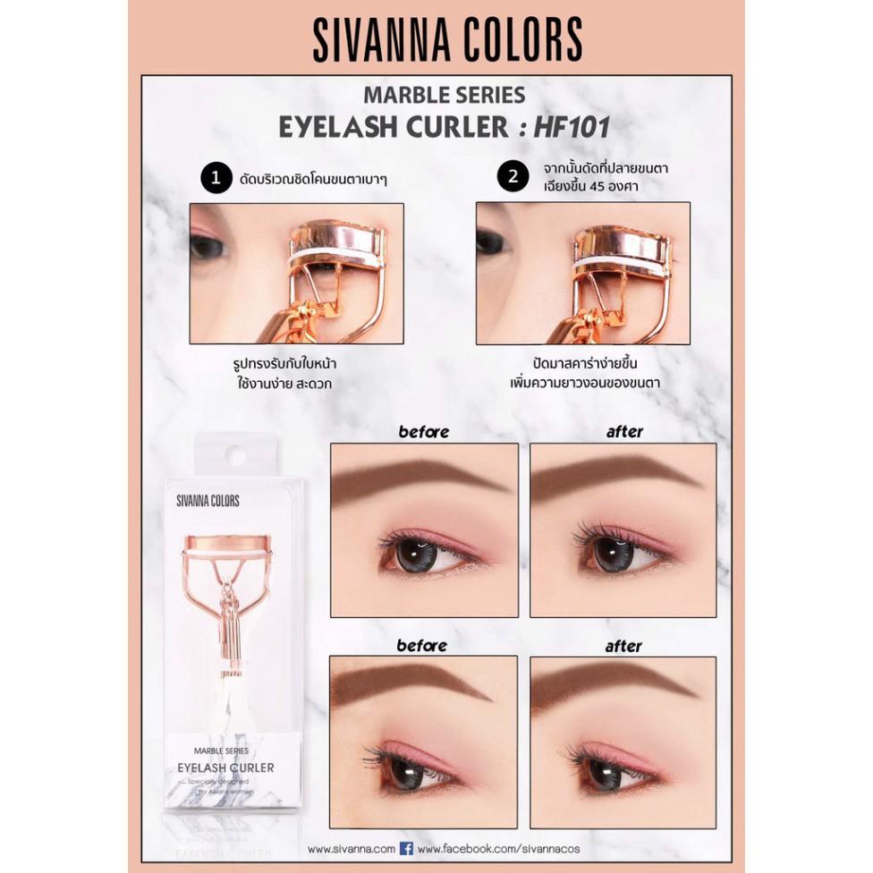 Kẹp Bấm Mi Sivanna Color Thái Lan
