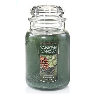 Nến thơm Yankee Balsam & Cedar Size L