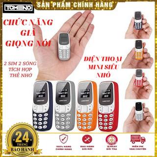 Điện thoại Mini – L8STAR BM10 – ( Nokia 3310 ) – 2 sim 2 sóng siêu nhỏ – đổi giọng nói – kết nối BT , Nghe Nhạc mp3