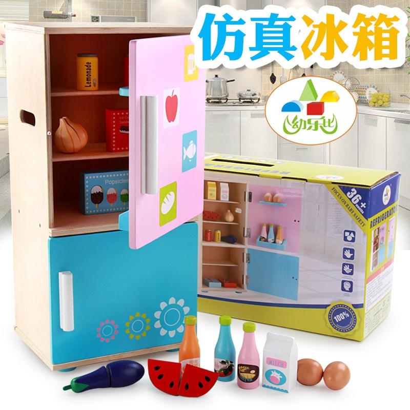 đồ chơi tủ lạnh bằng gỗ - 15158117 , 2396283220 , 322_2396283220 , 801700 , do-choi-tu-lanh-bang-go-322_2396283220 , shopee.vn , đồ chơi tủ lạnh bằng gỗ