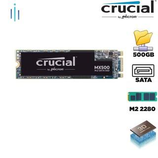 Ổ cứng SSD Crucial MX500 3D-NAND M.2 2280 SATA III 500GB CT500MX500SSD4 thumbnail