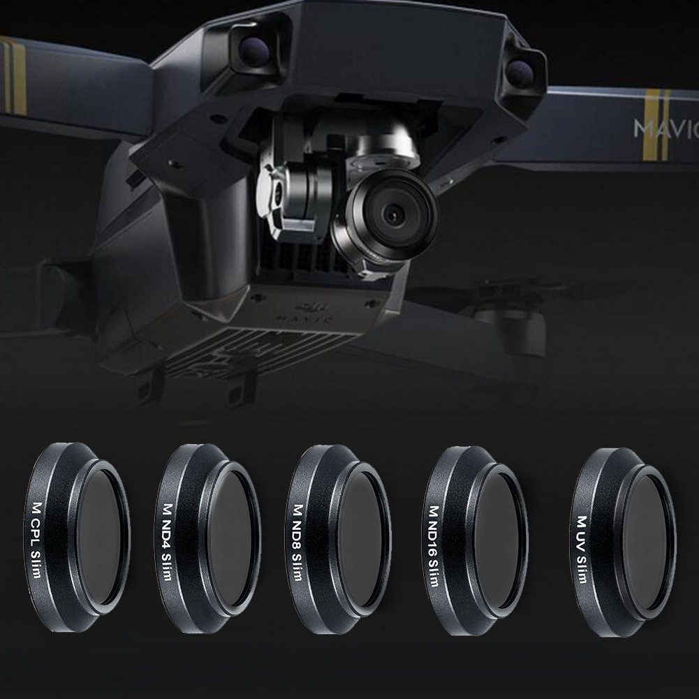Lens Filters for DJI MAVIC Pro RC Aerial ND4 ND8 ND16 UV CPL Polarizer Set