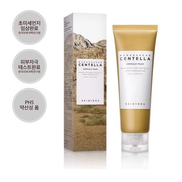 Sữa rửa mặt dịu nhẹ chiết xuất rau má Skin1004 Centella Foam 125ml | Shopee  Việt Nam