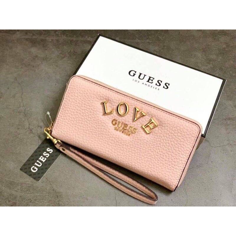 GUESS CONNER LARGE ZIP AROUND WALLET