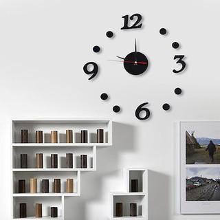 Đồng hồ dán tường COMA DIY 360 ngộ nghĩnh đường kính 30x30cm