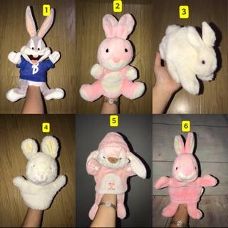 Rối tay hình con thỏ cho bé (đồ si tuyển)