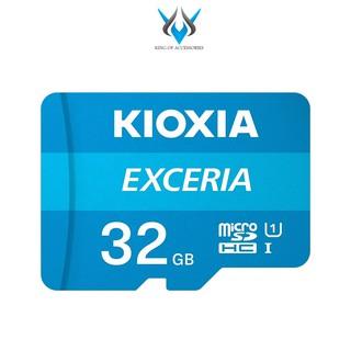 Thẻ nhớ MicroSDHC Kioxia Exceria 32GB UHS-I U1 100MB s (Xanh) thumbnail