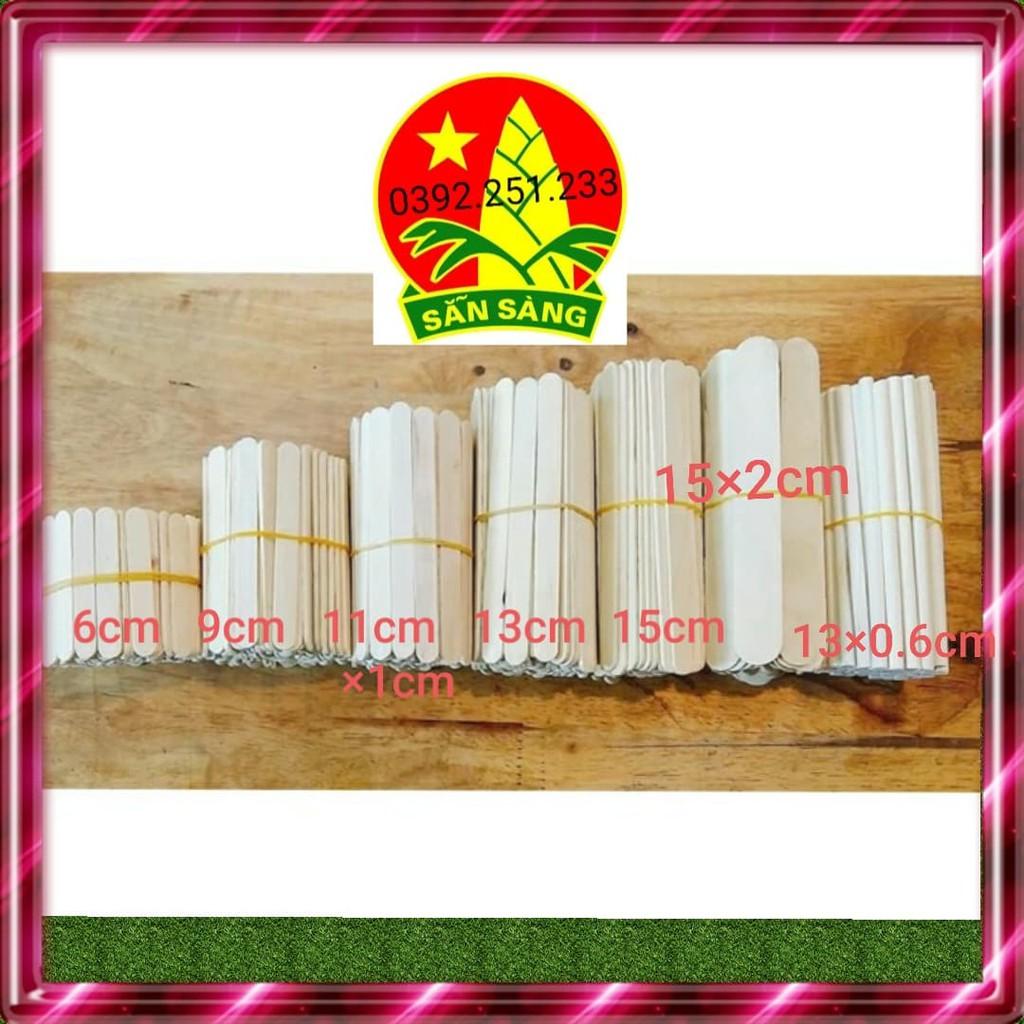 Gói 100g Que kem gỗ làm nhà mô hình loại đẹp tại Hà Nội