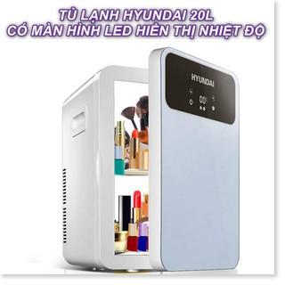 [ Hàng có sẵn ] – Tủ lạnh Hyundai 20L phiên bản mới có màn hình cảm ứng điều chỉnh nhiệt độ – Cao cấp