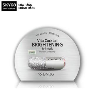 Mặt nạ dưỡng sáng da và làm mờ vết thâm BNBG Vita Cocktail Brightening Foil Mask - Intensive Brightening 30ml thumbnail