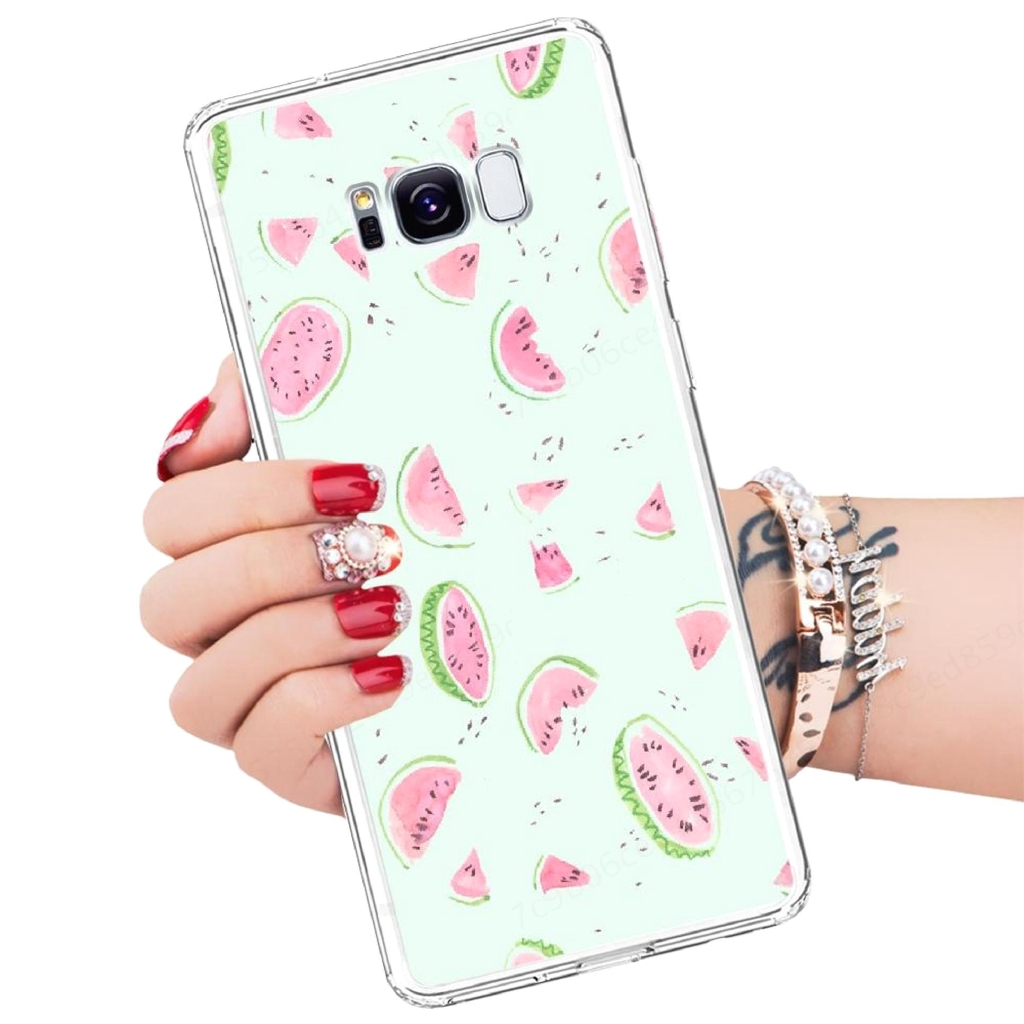 Samsung Galaxy A3 A40 A8 A7 A5 A6 A9 Soft TPU Phone Cover