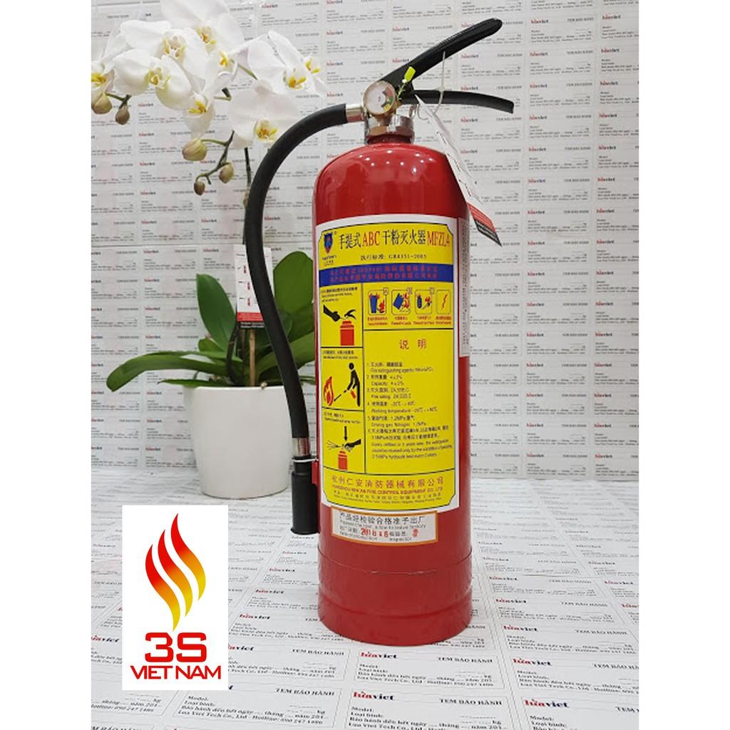 Bình bột chữa cháy MFZL (ABC) - SRI (8kg ,4kg)