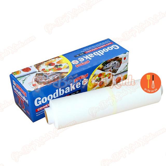 Giấy nến nướng bánh Goodbake chống dính khuôn lớn 75m