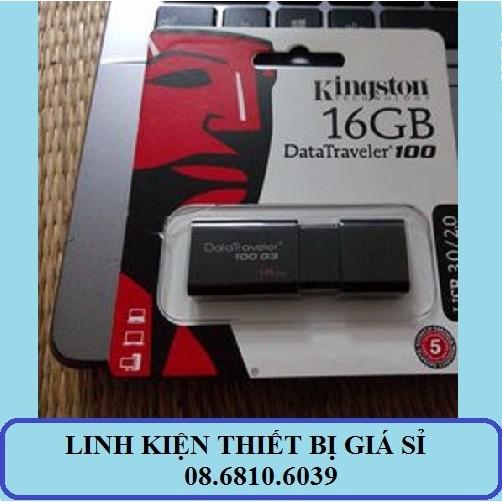 (Nhập mã ELCNLO giảm thêm 5%) USB Kingston 3.0 - 16G - Tem FPT