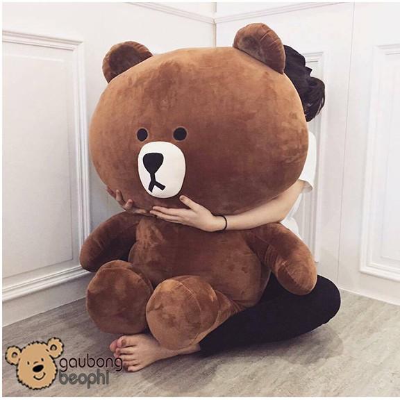 [SHOPEE TRỢ GIÁ] Gấu brown màu socola khổ vải  1m