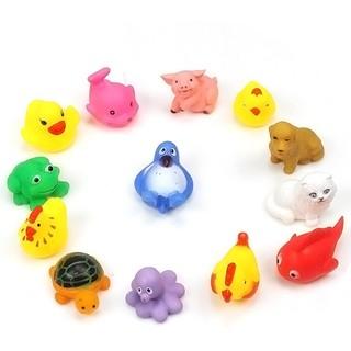 Đồ chơi nổi nhựa mềm hình các con vật đáng yêu cho bé