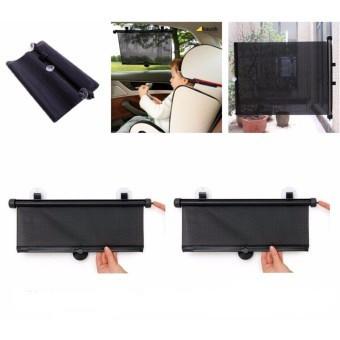 [Giá công phá] Bộ 2 màn che cửa sổ xếp gọn tự động gâp gọn 44x50 cm (Nhập khẩu và phân phối bởi Hand