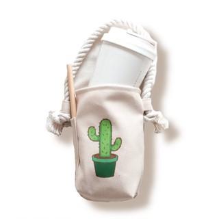 Túi vải đựng ly nước , bình nước CUP BAG Linlincanvas