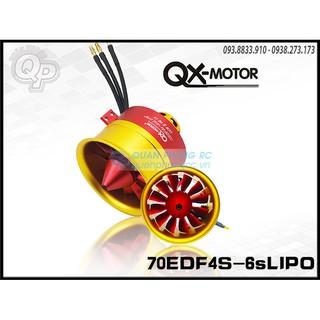 QX-MOTOR/GP Full Metal Ducted Fan70mm EDF 12 Blade 6s