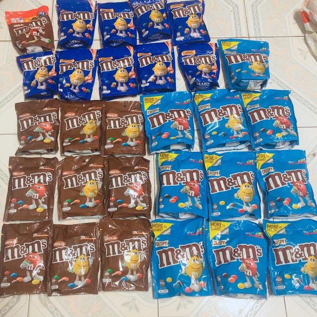 Kẹo socola M&M hàng Úc