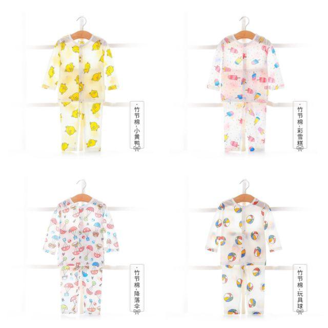 Bộ cotton tre dài xuất Nhật cao cấp c