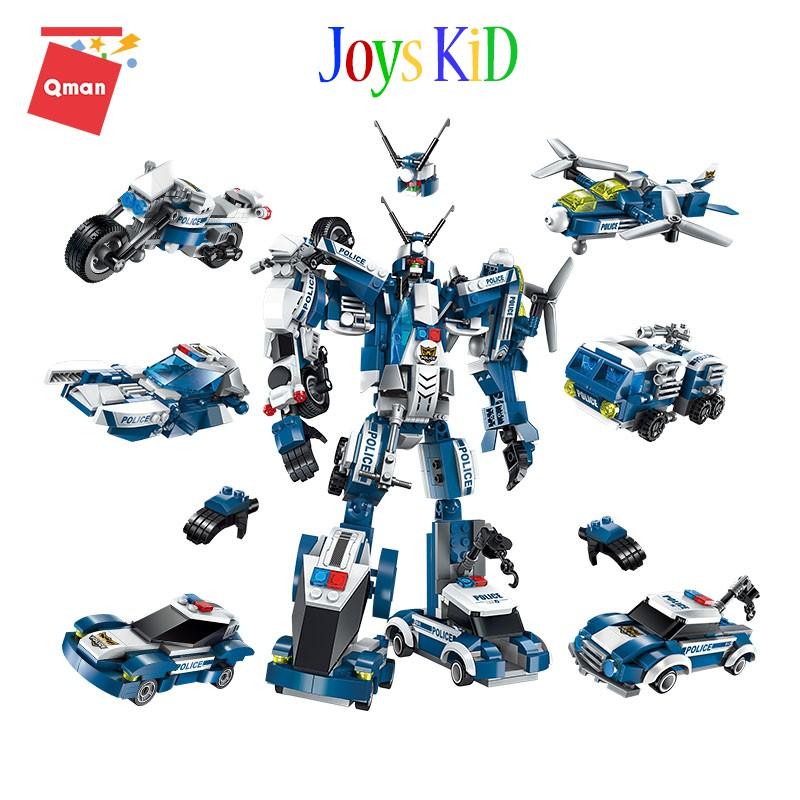 Đồ chơi xếp hình lego QMAN 1407 thương hiệu ENLIGHTEN: The Raging Warrior - Joys KiD