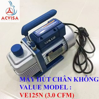Máy Hút Chân Không Value Model VE125N (3.0 CFM)