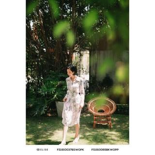 Chân váy hồng HT xếp ly thiết kế Elise thumbnail