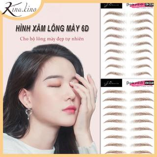 HOT Miếng dán xăm lông mày 6D - Tất tần tật 9 dáng mày hot nhất 2020 - KinaKino thumbnail