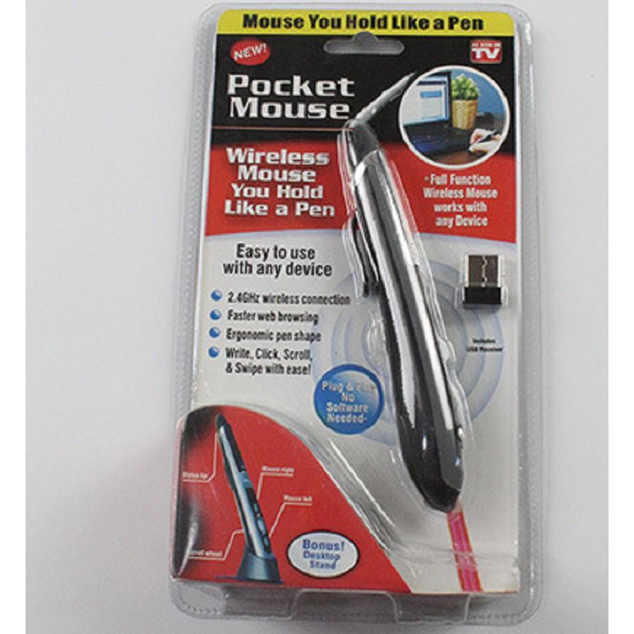 Chuột không dây bỏ túi hình cây bút Pocket Mouse