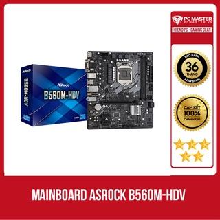 Mainboard ASROCK B560M-HDV (Intel B560, LGA 1200, m-ATX, 2 khe Ram DDR4) hàng chính hãng, giá tốt thumbnail