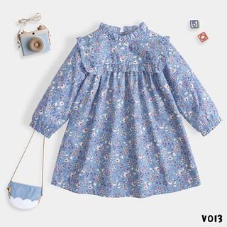Váy Cho bé 2 Màu Hoa Dáng Xoè Xinh Xắn Thời Trang BELLO LAND thumbnail