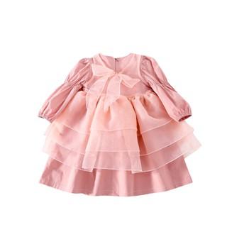 Đầm công chúa xếp tầng cho bé D462