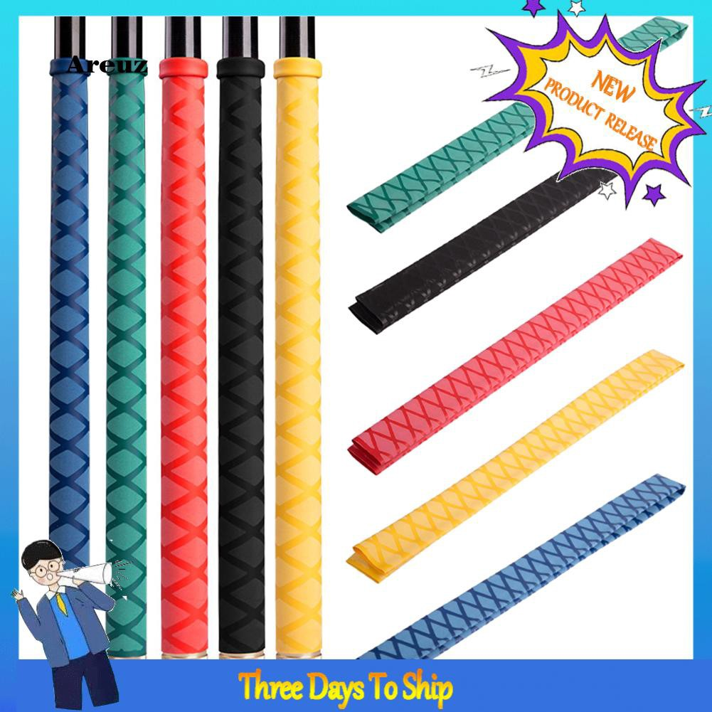 ARE2-1m Anti-slip Fishing Rod Grip Heat Shrink Sleeve Wrap Tube Protective Cover