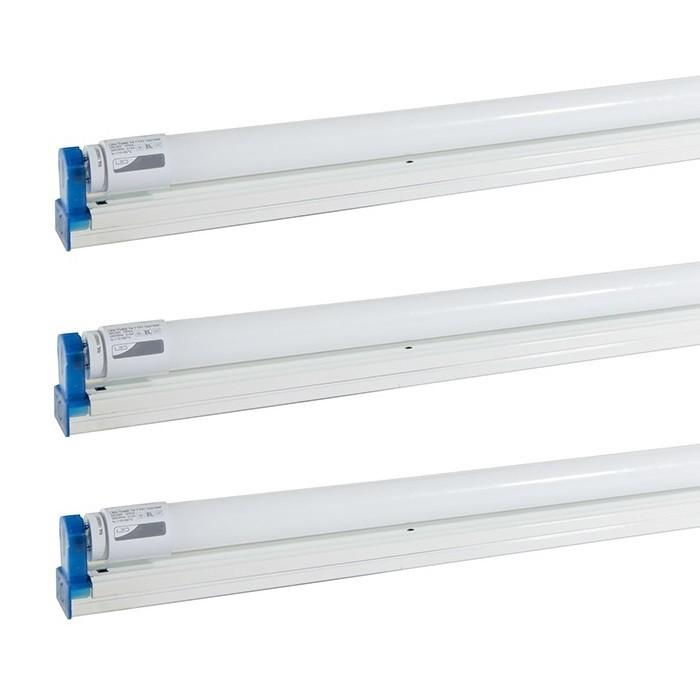 3 Bộ đèn Tuyp Led 1m2 22W Siêu sáng Tiết kiệm điện - 3 Bộ đèn Tuyp Led 1m2 22W