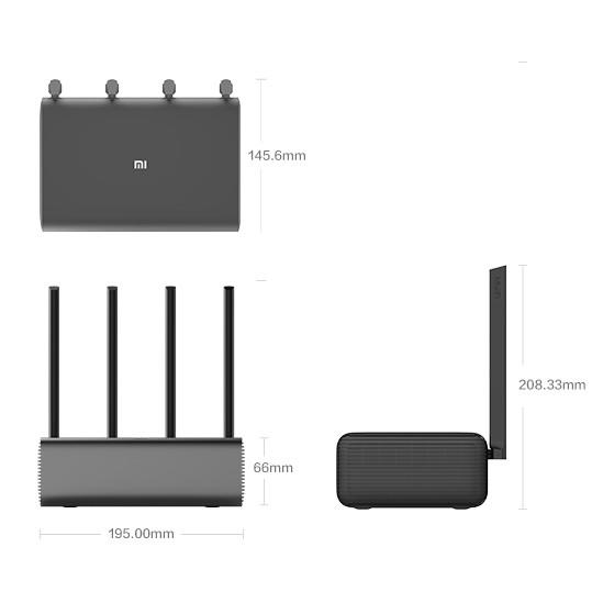 Bộ phát Wifi router 4 râu XIAOMI Router Pro / Chính Hãng Bảo hành 1 năm- Mới 100% Nguyên seal
