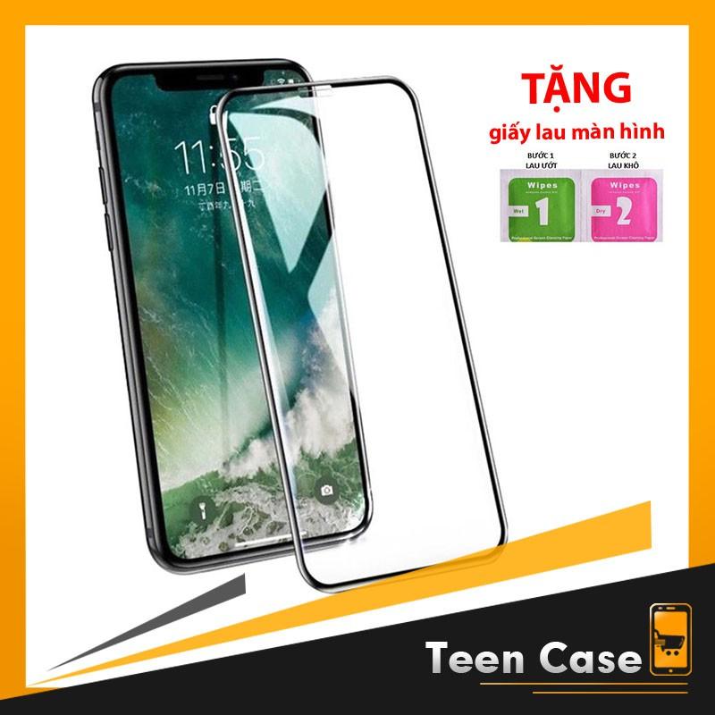 Kính cường lực iphone 6 Plus 7 Plus 8 Plus X Xr Xs Max 11 pro max full màn chống vân giá rẻ